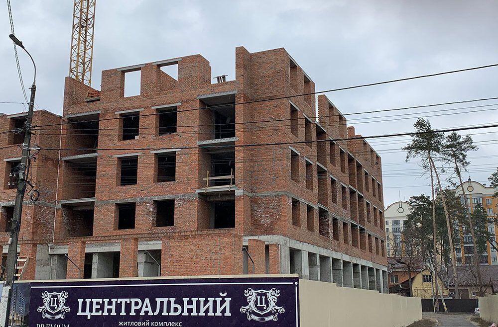 Фотозвіт з будмайданчика на початок березня